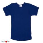 Débardeurs, T-shirts, pulls, gilets, multicapes et bodys/MANYMONTHS 2018/19 - T-SHIRT ENFANT manches courtes en pure laine mérinos