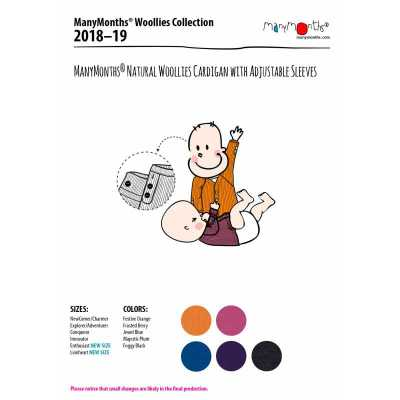 Laine 100% mérinos 2018-2019 MANYMONTHS 2018/19 – GILET en pure laine mérinos