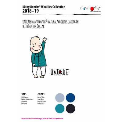 Racine MANYMONTHS 2018/19– GILET COL REMONTANT en pure laine mérinos