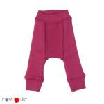 Shorts, shortys, longies, leggings, collants, salopette/MANYMONTHS 2018/19 – LONGIES REVERSIBLE -pantanlon bébé en pure laine mérinos