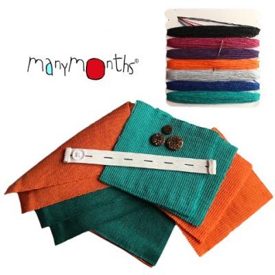 Vêtement bébé-enfant Kit de réparation Manymonths laine 2018/19