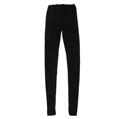 Vêtements et sous-vêtements laine et soie Engel Natur ENGEL - LEGGINGS (sous pantalon) NOIR Femme