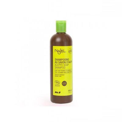 Savons d'Alep, savon intime, gel nettoyant intime Shampooing savon d'Alep 2 en 1 - cheveux normaux 500 ml