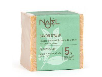 Idées Cadeaux SAVON D'ALEP 5% d'huile de baies de laurier - 200 gr