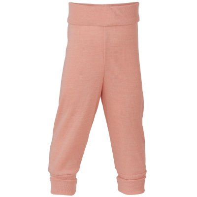 Sous-vêtements ENGEL 2019 -  Pantalon laine et soie à large ceinture Rose saumon (50 au 92)