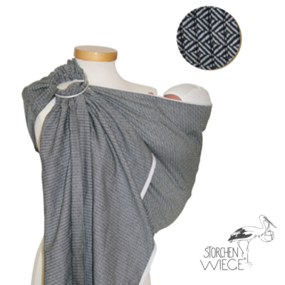 Racine RingSling STORCHENWIEGE gris