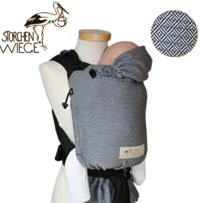 Babycarrier STORCHENWIEGE BABYCARRIER Storchenwiege Noir-Blanc