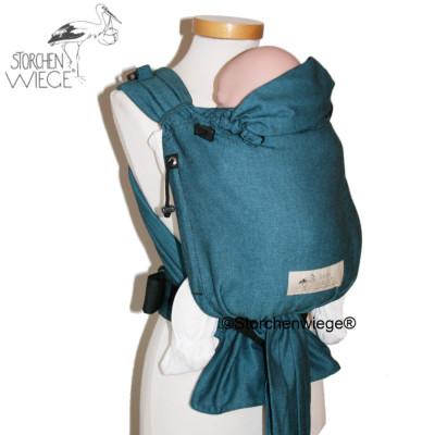 Babycarrier STORCHENWIEGE BABYCARRIER Storchenwiege Turquoise
