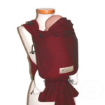 Babycarrier STORCHENWIEGE/BABYCARRIER Storchenwiege SLIM Bordeaux