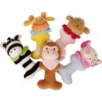 Legler - Small foot Baby Hochet peluche animaux