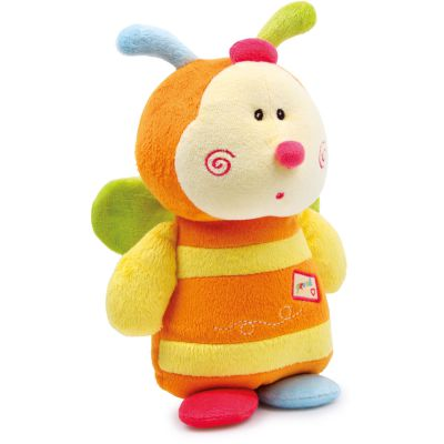 Racine Lelgler - Small foot Baby Doudou peluche abeille Pia