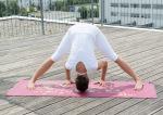 Racine/YOGISTAR - Tapis de Yoga Mat Indian Flower
