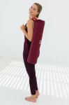 Racine/YOGISTAR - Tapis de Yoga Mat basic zip broderie OM
