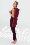 YOGISTAR - Tapis de Yoga Mat basic zip broderie OM