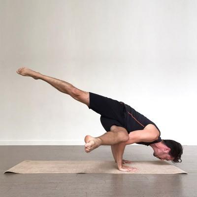 Tapis de yoga et massage YOGISTAR - Tapis de Yoga Mat jute nature