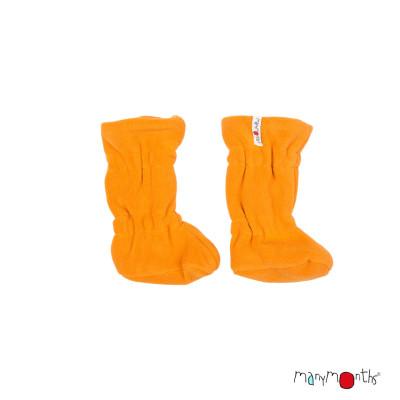 Chaussons de portage MANYMONTHS 2019/20 - Chaussons de portage ajustables  reversibles laine mérinos et polaire