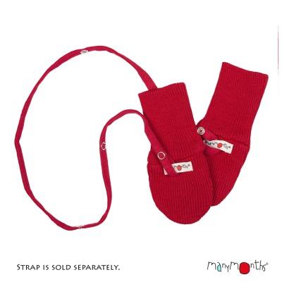 Moufles, col, écharpes, bandana MANYMONTHS 2019/20 – Cordelette pour Moufles en pure laine mérnos (vendu seul)