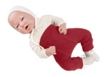 Laine 100% Mérinos 2019-2020/MANYMONTHS 2019/20 – Longies réversible -pantanlon bébé en pure laine mérinos