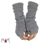 MaM 2019/20 Natural Woollies – Mitaines  Longues pour Adultes en pure laine merinos