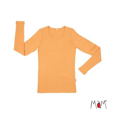 Laine 100% Mérinos 2019-2020 MaM 2019/20 Natural Woollies – T-shirt adulte manches longues en laine