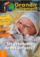 Grandir autrement Grandir Autrement N°11 - LES VÊTEMENTS DE NOS ENFANTS