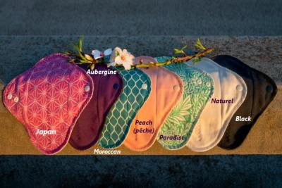 Mam EcoFit, Lunacopine, coussinets d'allaitement et carrés démaquillants MaM ECOFIT 2020 MINI - Protège-slips lavables