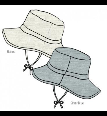 Eté 2020 - Chanvre et coton bio Eté 2020 -  Chapeau de soleil Ajustable Traveller Hat