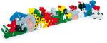 Racine/Legler 2020 - Puzzle 3D Animaux lettres et nombres en bois