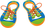 Racine/Legler 2020 - Chaussures à lacet éducative en bois