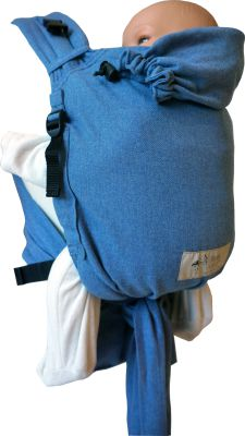 Babycarrier STORCHENWIEGE BABYCARRIER Storchenwiege Soft-blue Edition limitée