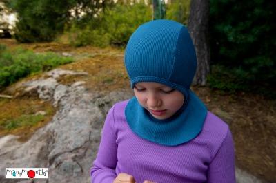 Bonnets hivers MANYMONTHS 2020-21 - Bonnet elephant (cagoule) en pure laine merinos
