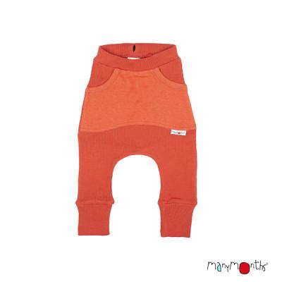 Débardeurs, T-shirts, pulls, gilets, multicapes et bodys MANYMONTHS 2020-21 - Kangaroo Trousers avec poches en pure laine mérinos