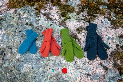 Coup de coeur MANYMONTHS 2020-21 - Moufles en pure laine mérnos