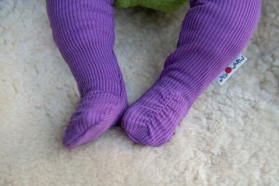 Chaussons et Bonnets de portage MANYMONTHS 2020-21 - Long Tubes Booties Chaussons/chaussettes de portages ajustables en laine