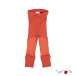 Racine/MANYMONTHS 2020-21 - Leggings protèges genoux unisex pour enfants en pure laine mérinos