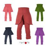 MANYMONTHS 2020-21 - Leggings/jupe pour enfants en pure laine mérinos