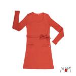Racine/MaM 2020-21 Natural Woollies - Tunique/robe de matenité /Allaitement en laine mérinos
