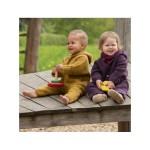 Racine/ENGEL Nouveauté - Combinaison bébé en 100% laine mérinos, polaire (50 au 92)