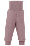 Racine/ENGEL Nouveauté - Pantalon épais à large ceinture bébé en 100% laine mérinos, polaire (62 au 92)