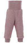 ENGEL Nouveauté - Pantalon épais à large ceinture bébé en 100% laine mérinos, polaire (62 au 92)