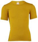 Débardeurs, T-shirts, pulls, gilets, multicapes et bodys/ENGEL Nouveauté - Sous-pull manches courtes  en 70% laine et 30% soie (86/92 au 164)