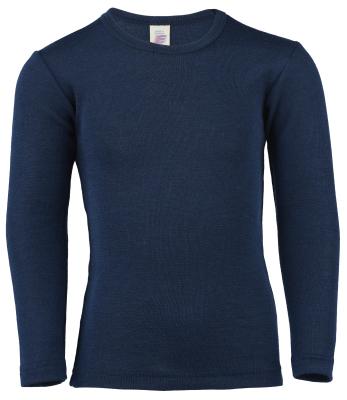Sous-vêtements ENGEL nouveauté – Sous - pull enfants manches longues en laine soie (86-164)