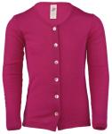 Débardeurs, T-shirts, pulls, gilets, multicapes et bodys/ENGEL Nouveauté - Gilets enfants en laine et soie (tailles 92 à 152)