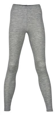 Coup de coeur ENGEL 2020 - Leggings (sous-pantalon) femmes  Gris chiné en laine/soie