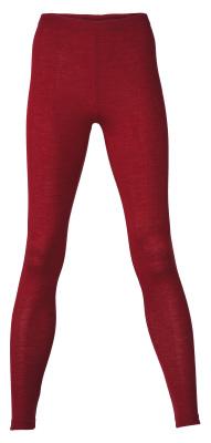 Coup de coeur ENGEL 2020 - Leggings (sous-pantalon) femmes Rouge rubis  en laine/soie