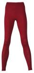 Racine/ENGEL 2020 - Leggings (sous-pantalon) femmes Rouge rubis  en laine/soie