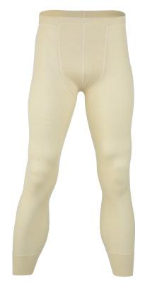Coup de coeur ENGEL 2020 Nouveauté -  Leggings (sous-pantalon) Homme en laine/soie ÉCRU