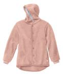 Racine/Disana 21 - Manteau en laine mérinos bouillie bio avec capuche doublé coton bio