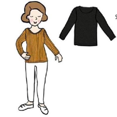 Coup de coeur MaM 2021-22 - T-Shirt femmes  à  manches longues en 100% laine mérinos