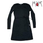 Racine/MaM 2021-22 - Tunique/robe de matenité et d'Allaitement en 100% laine mérinos